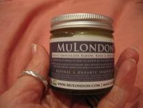MuLondon choc elbow cream